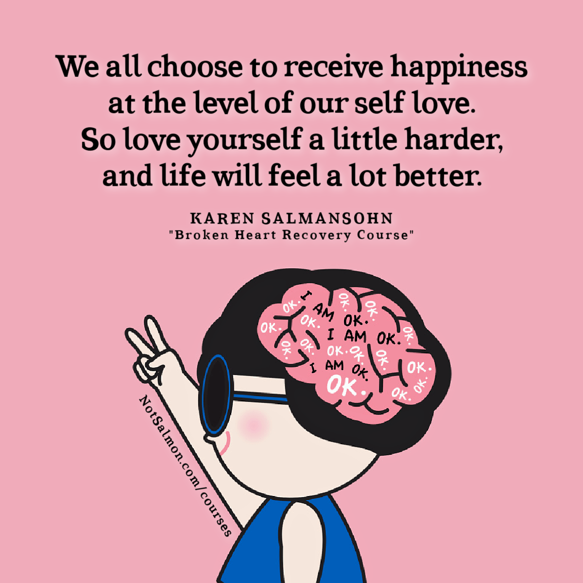 love yourself more to feel better about youself