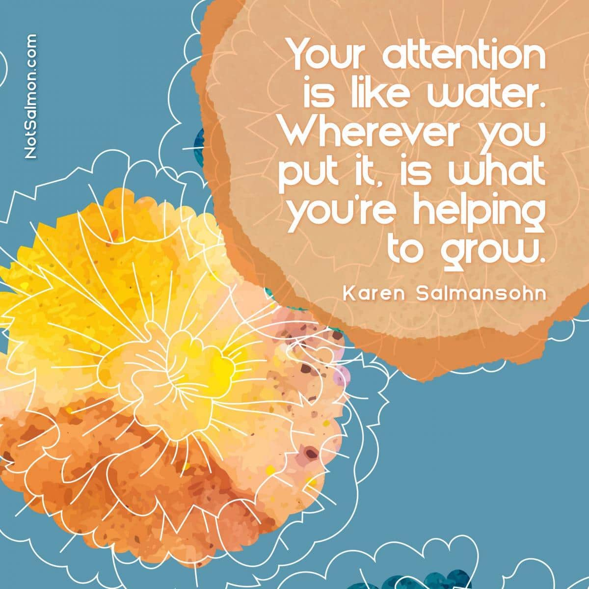attention is like water grows