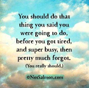 feeling tired