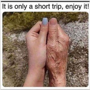 short trip enjoy it