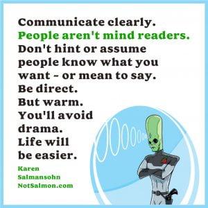 communicate directly
