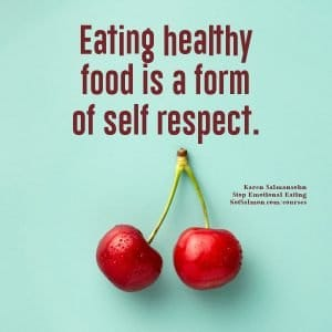 eating healthy weight loss