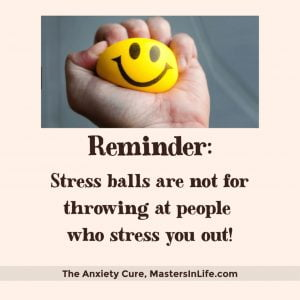 desk item stress ball to reduce anxiety